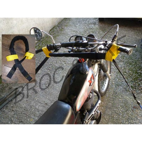 SANGLE DE GUIDON POUR TRANSPORT MOTO
