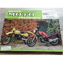 RMT n°43 YAMAHA XJ 650 1980-1985 / SUZUKI 175 PE 125 RM 79-81