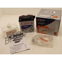 Batterie TECNIUM 6N6-3B-1 6V125 DTMX - 500 XT