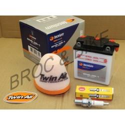KIT redémarrage 125 DTMX Filtre bougie batterie