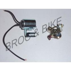 rupteur + Condensateur allumage 125 DTMX